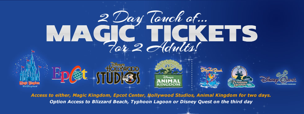 Disney world ticket coupons